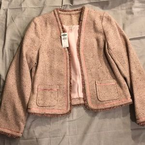 Old Navy Pink Blazer - L NWT